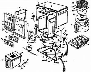 Coffee Maker Interior Diagram