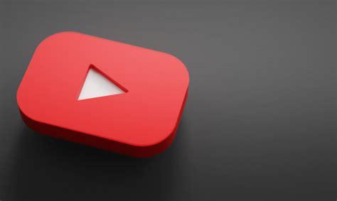 Premium Photo   Youtube logo 3d rendering close up ...