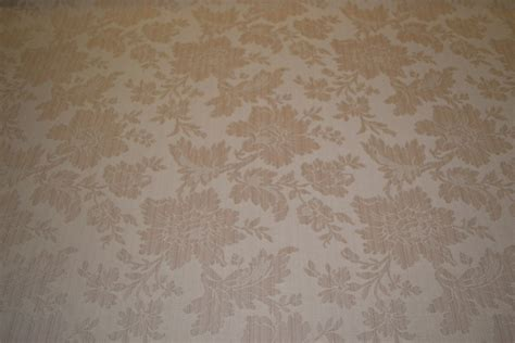 tone beige floral upholstery fabric