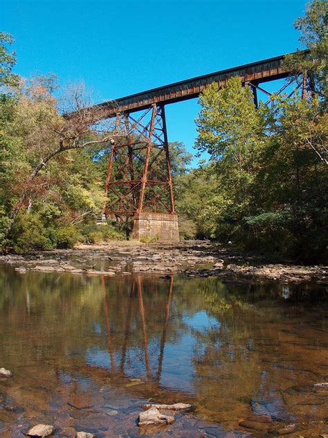 hatchet creek train trestle coosa county alabama