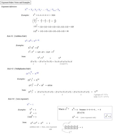 Math Plane  Logarithms And Exponents I