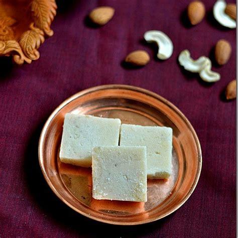 badam cashew burfi recipe easy diwali sweets recipes