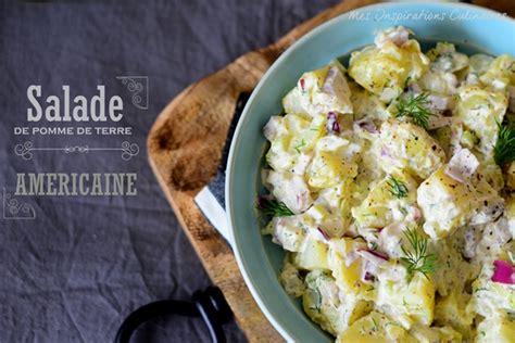 recette traditionnelle cuisine americaine salade de pomme de terre traditionnelle américaine le cuisine de samar