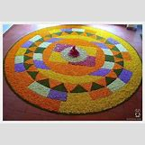 Rangoli Designs With Flowers And Colours | 600 x 419 jpeg 55kB
