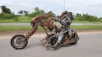 Motorcycle Predator Xenomorph Rides Custom Thailand Alien