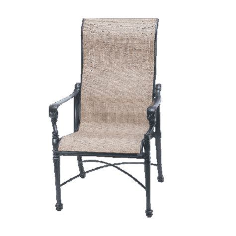 Gensun Patio Furniture Cushions by Grand Terrace Sling Dining Patio Set By Gensun Family