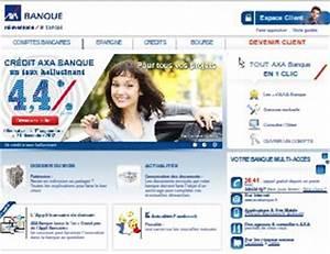 Credit Axa Banque : mon compte axa banque mes comptes en ligne sur ~ Maxctalentgroup.com Avis de Voitures