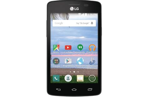 tracfone wireless phones lg lucky cdma tracfone smartphone l16c lg usa