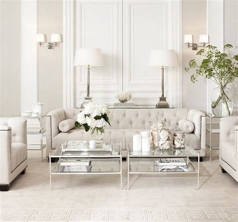 eichholtz living room transitional with beige interiors coral gables furniture store coral gables