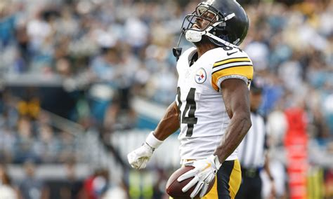 redskins  big opportunity  antonio brown  traded