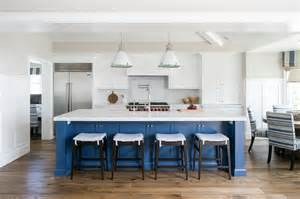 blue kitchen island blue center island with ralph fulton pendants transitional kitchen farrow and