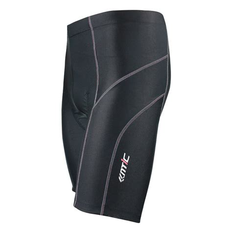 black cycling santic cycling shorts biking bicycle bike shorts black