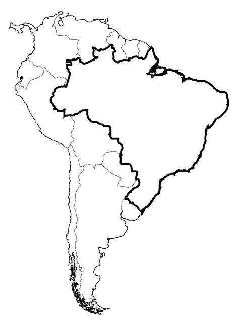south america map drawing  getdrawingscom