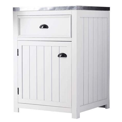 cuisine droite meuble bas de cuisine ouverture droite en pin blanc l 60