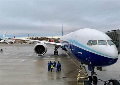 Boeing 777x 777 Flight Takes Nuevo Engine