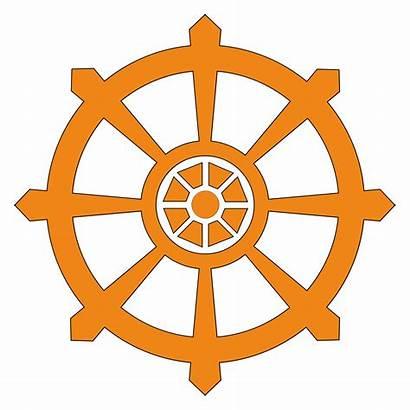 Symbols Buddhist Dharma Wheel Svg Wikimedia Commons