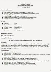 different types of resume formats With different resume formats