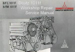 1983 Deutz Alternator Wiring Diagram : deutz 1011f engine manual tractor truck shop repair ~ A.2002-acura-tl-radio.info Haus und Dekorationen