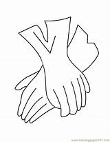 Gloves Coloring Glove Pages Printable Baseball Accessories Template Coloringpages101 Templates Getcoloringpages Entertainment sketch template