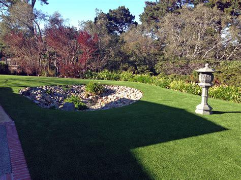 Backyard Grass by Faux Grass Fresno California Landscape Rock Backyard Ideas