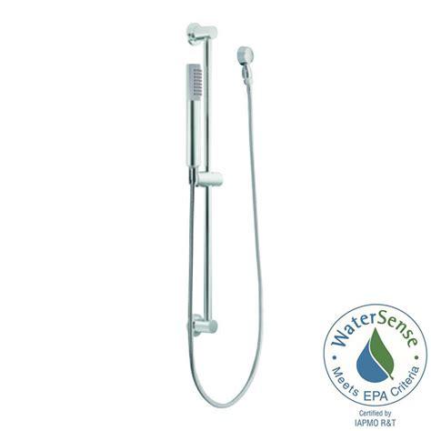 lowes kitchen sinks moen eco 1 spray handshower with slide bar in chrome 3887