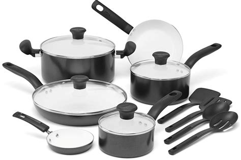 cookware ceramic fal nonstick coating piece amazon sets initiatives