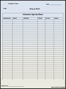 Sign Up Form Template Word 45 Sign Up Sign In Sheet Templates For Excel Word