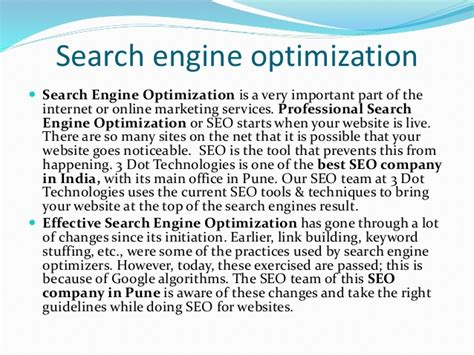 Best Search Engine Optimization Company - top seo search engine optimization companies services in