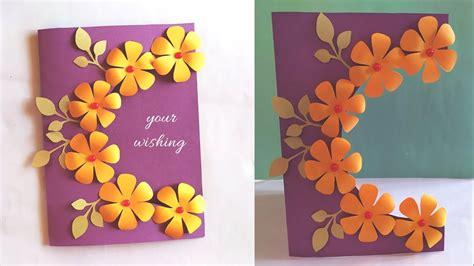 handmade card idea  birthday teachers day