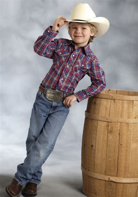 Roper Kids Western Shirts for the Pumpkin Patch