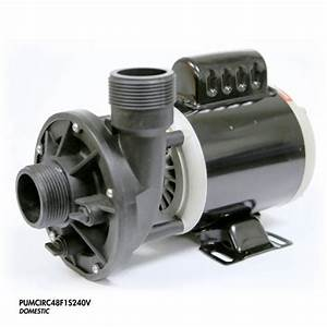 Spa Circulation Pump 1 Speed 1 5 Inch In  Out 48 Frame 240
