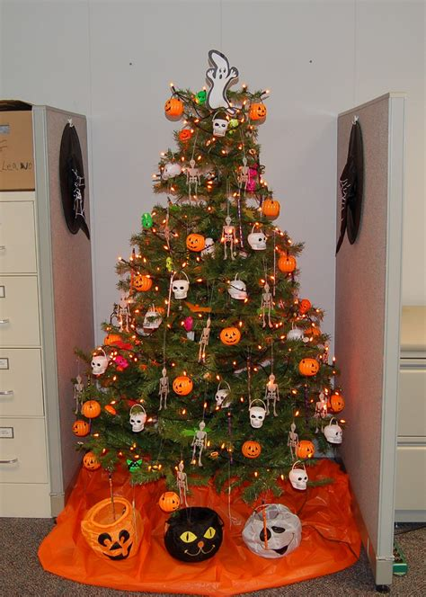 halloween trees theyre    christmas trees