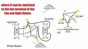 3 Wire Ceiling Fan With Light Wiring Diagram