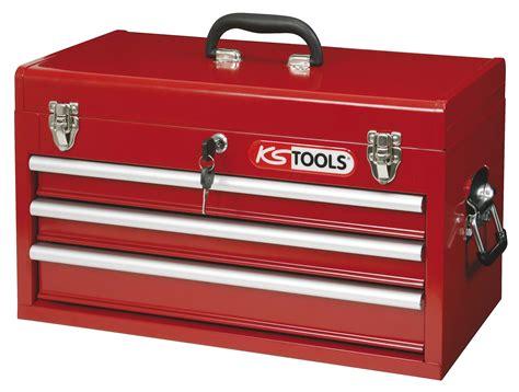 kstools coffre outils vide avec 3 tiroirs 891 0003