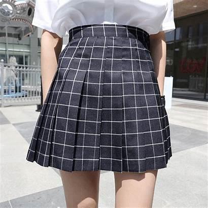 Skirt Skirts Plaid Outfits Kawaii Japan Wear