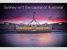 Sydney isn't the capital of Australia! Ovolo Hotels