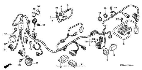 Wire Harness For Honda Big Ruckus Usa