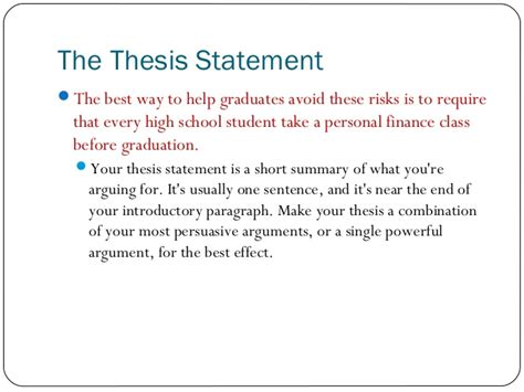 persuasive essay thesis statement examples graduation speech ideas for elementary school sample