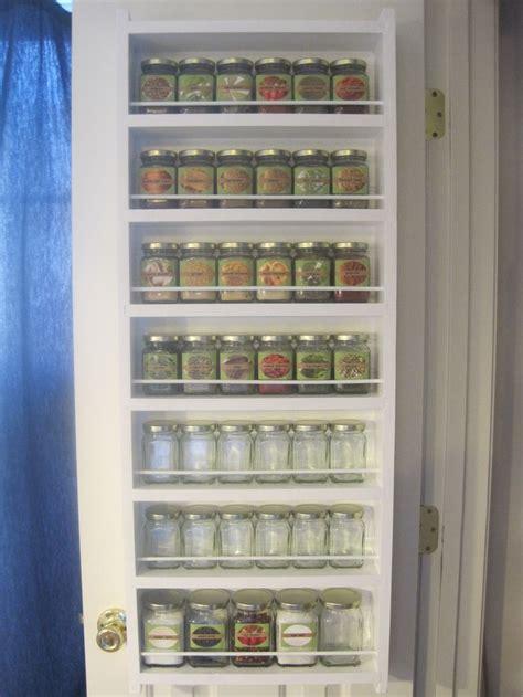 spice rack  pantry door organization pinterest spice racks pantry  spices