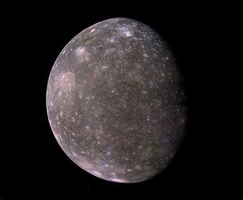 Astronomy & Astrophysics - Callisto moon of Jupiter taken ...