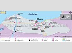 Dili Map Map of Dili City, TimorLeste