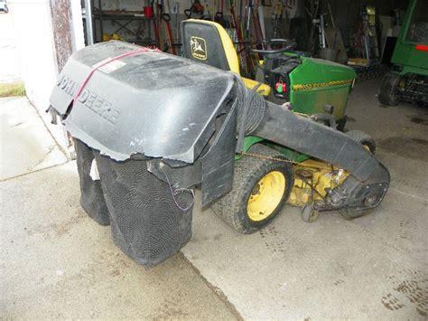 deere mower deck removal deere 445 tractor 54 quot mowing deck snow removal