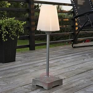 Lampadaire D Extérieur : balcon terrasse lampadaire lampe de jardin d exterieur ~ Edinachiropracticcenter.com Idées de Décoration