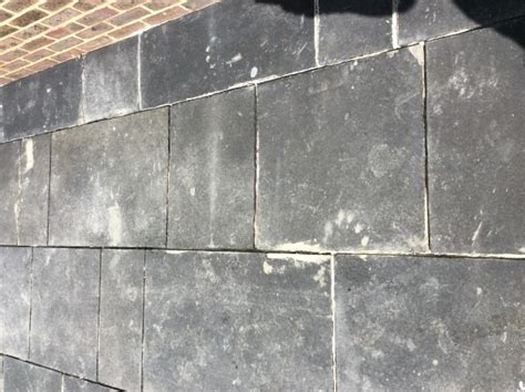 Removing Grout From Slate Tile by Problem Solving Black Limestone Tile Cleaning Sealing