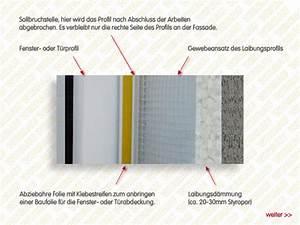 Fassade Verputzen Mit Gewebe : anputzleisten laibungsprofile f r ihre fassadend mmung ~ Lizthompson.info Haus und Dekorationen