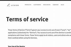 terms and conditions template generator free 2017 With terms and conditions of service template