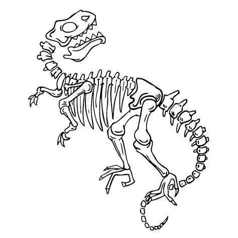 Kleurplaten Dino S by Bekijk Fossielen En Dino Skeletten 0004 Kleurplaat Dino