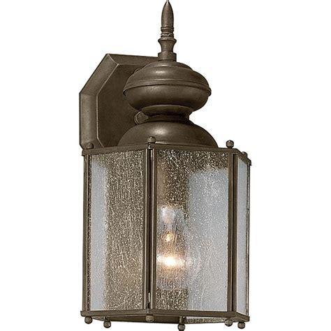 progress lighting coach collection 1 light 12 5 in outdoor bronze wall lantern
