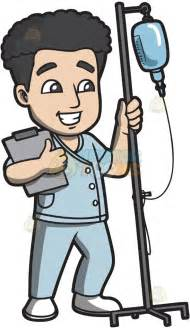 Male Nurse Cartoon Clip Art