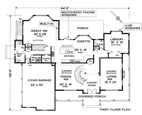center colonial house plans five bedroom colonial house plan